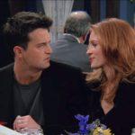 Chandler e Julia Roberts (participação especial) – Friends