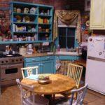Cozinha da série Friends – Um dos principais cenários