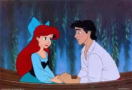 A pequena sereia-Ariel e Eric