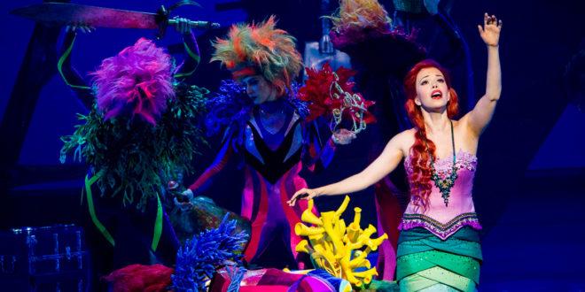 """A pequena sereia""""O musical"""" versão brasileir"""
