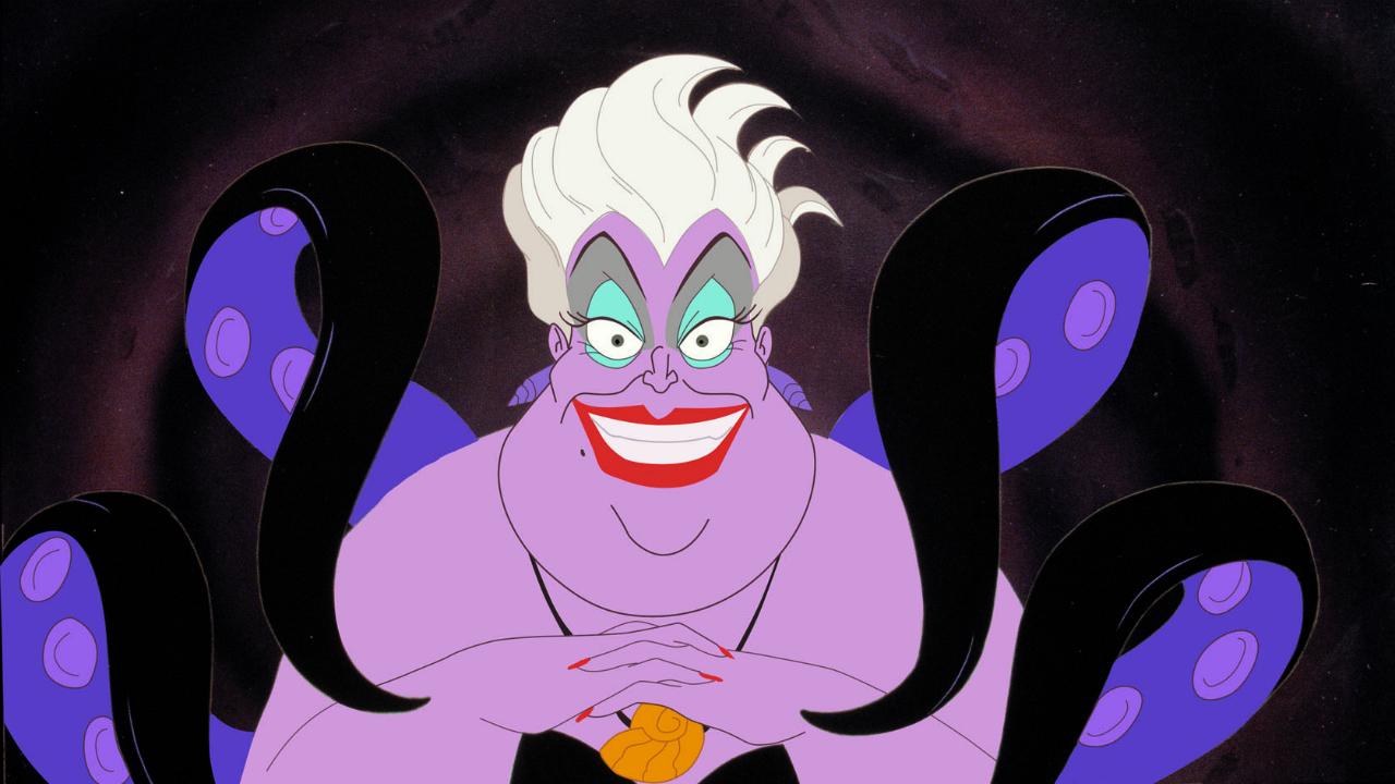 A pequena sereia-Ursula