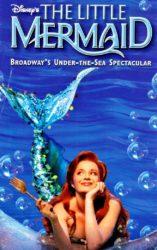 A pequena sereia broadway poster