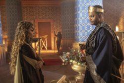 A princesa Jezabel e seu pai, o rei Etbaal, tramam a morte do rei Onri