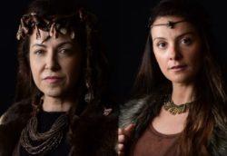 Alessandra Verney e Carolina Chalita fazem parte do elenco de Gênesis