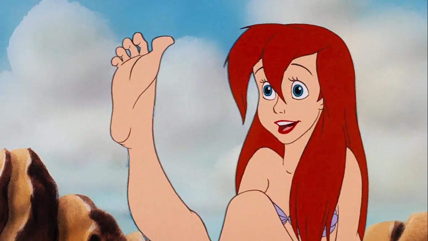 Ariel ganha pernas