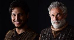 Bruno Guedes e Oscar Magrini vão interpretar Noé em Gênesis