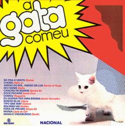 Capa trilha Sonora nacional A gata Comeu