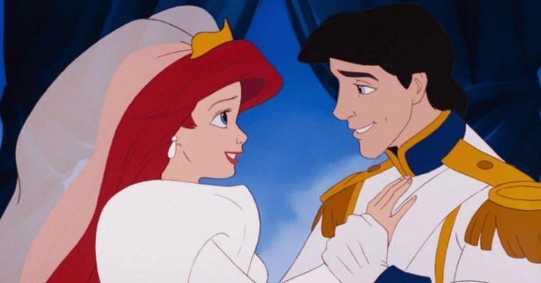 Casamento de Ariel e principe Eric