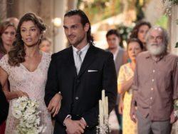 dia do casamento de Esther e Alberto