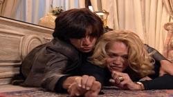 Suzana Vieira cenas da briga com Cássia Kis