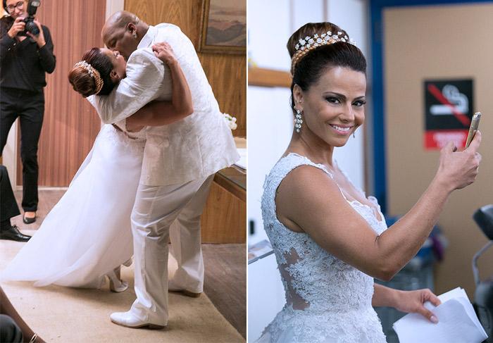Império-Casamento Xana(Aílton Graça) e Naná (Viviane Araújo)