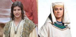 Os atores Ricky Tavares (à esquerda) e Ângelo Paes Leme (à direita) vivem José em diferentes fases.