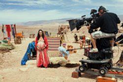 Para aproximar José do Egito da terra das Esfinges e recriar o clima de 1700 antes de Cristo, entre atores e equipe técnica, foram para o Chile gravar no Deserto do Atacama