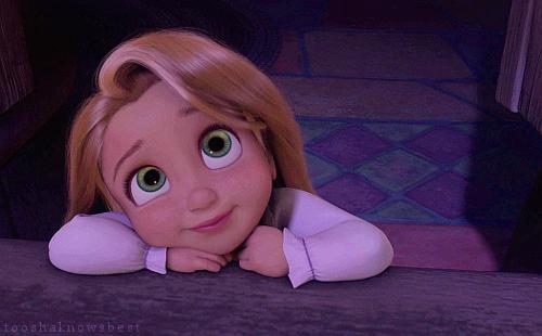 Rapunzel criança