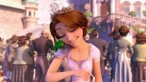 Rapunzel e Pascal