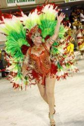 Suzana Vieira em Clima de Carnaval