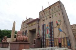 Templo da cidade cenográfica de Avaris