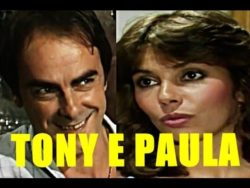 Tony e Paula em A gata comeu