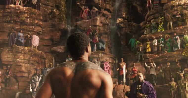 pantera negra - cena do filme