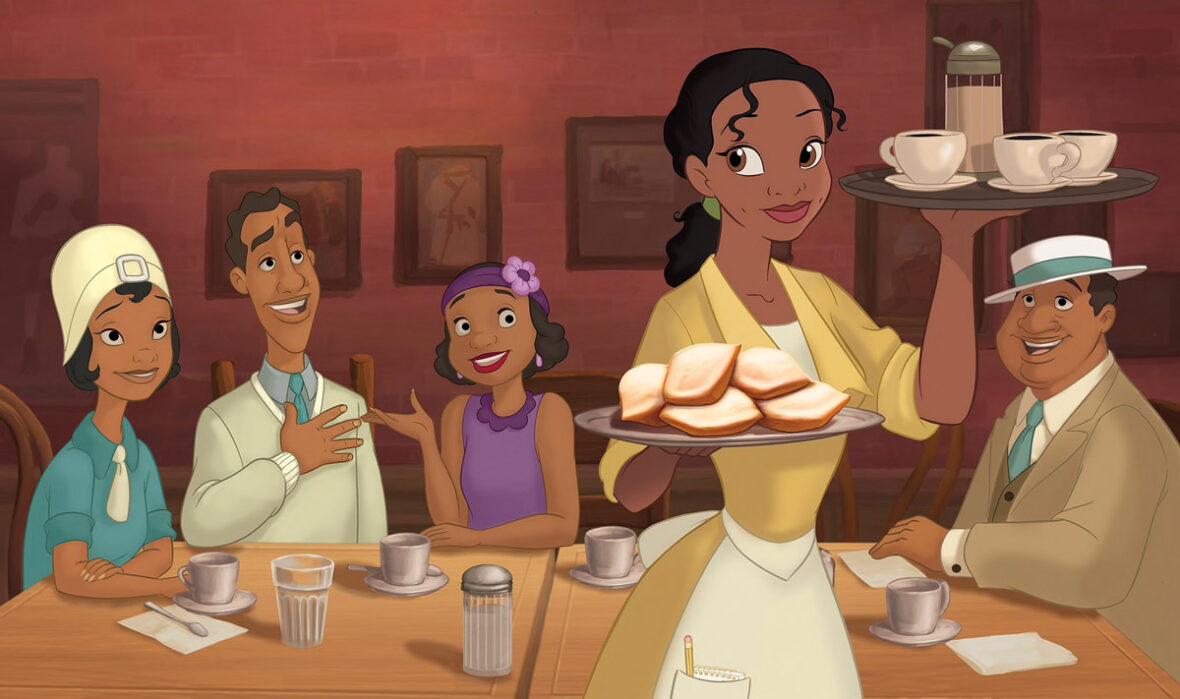 A Princesa e o Sapo-Amigos da Tiana