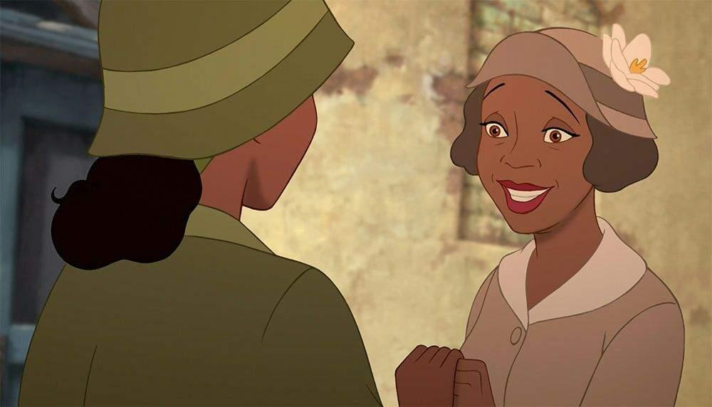 A Princesa e o Sapo-Mae da Tiana