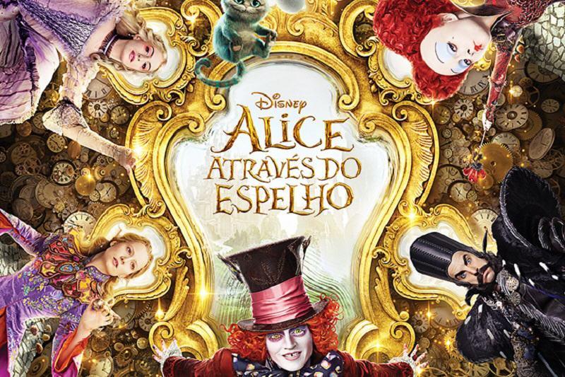 Alice atraves do espelho-poster