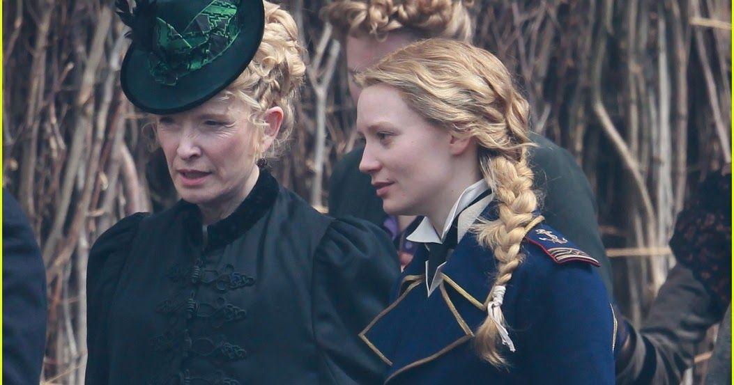 Alice com a mãe