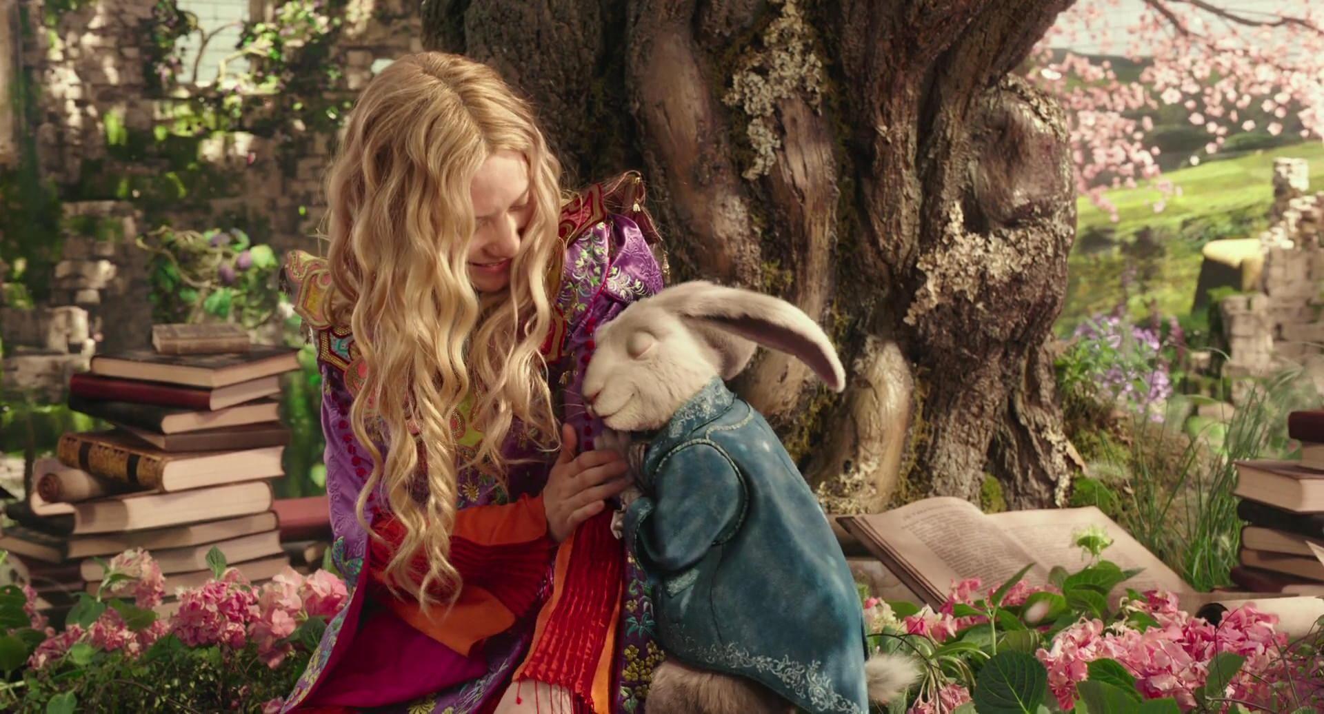Alice e o coelho branco