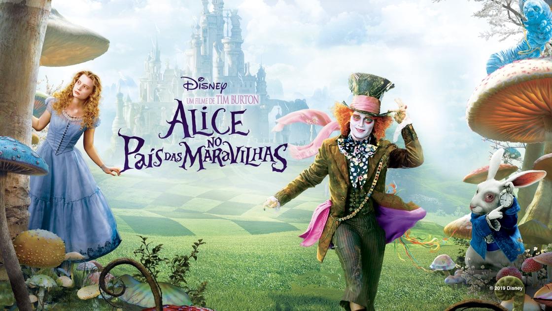 Alice no pais das maravilhas-poster