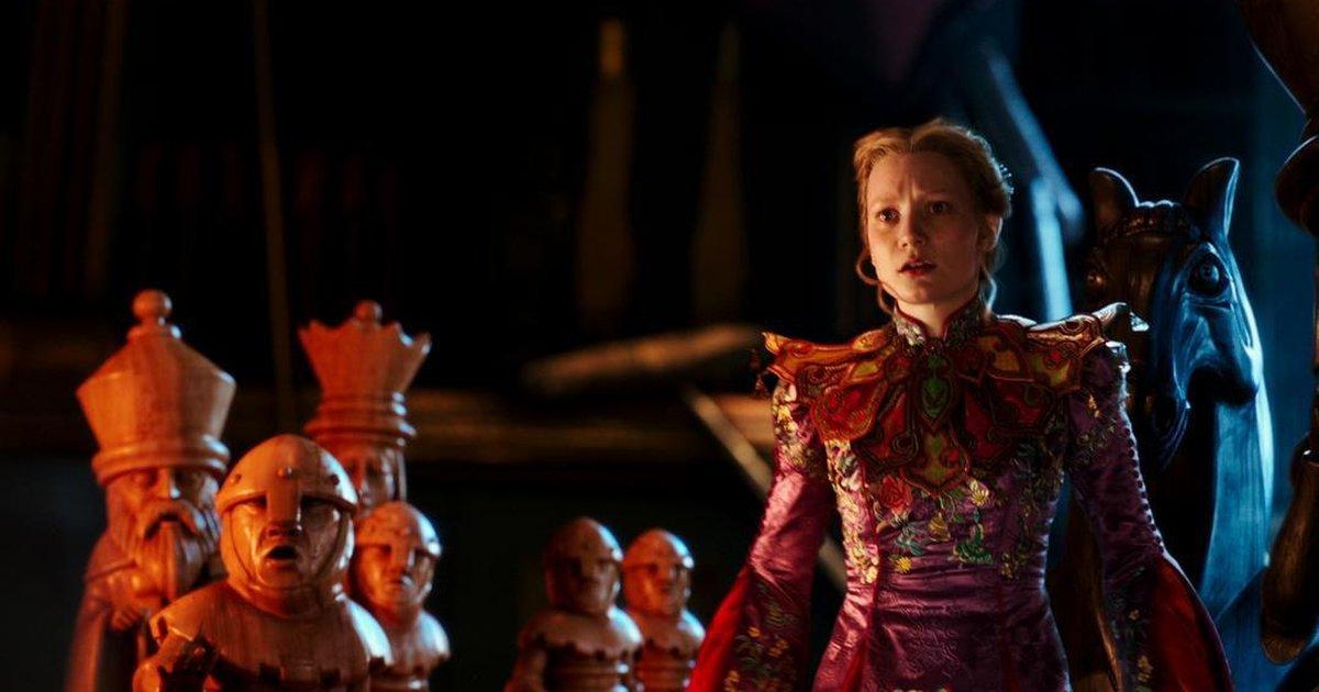 Alice no tabuleiro de xadrez