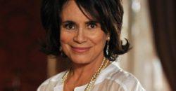 Após meses vivendo Clô Hayalla, Regina Duarte se despede de 'O Astro'
