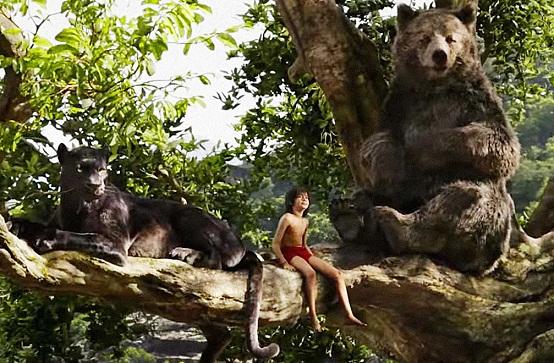 Bagheera,Mogli e Baloo