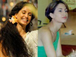 Camila Pitanga em duas fases (Foto: Lado a Lado/Malhação/TV Globo)