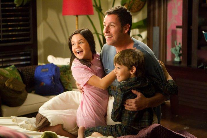 Danny e os filhos de Katherine