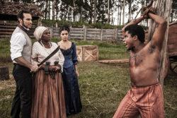 ESCRAVA MÃE – Almeida chicoteia Sapião brutalmente