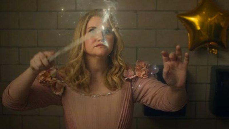 Eleanor com a varinha magica