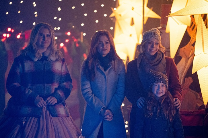 Eleanor,Mackenzie,Paula e Mia