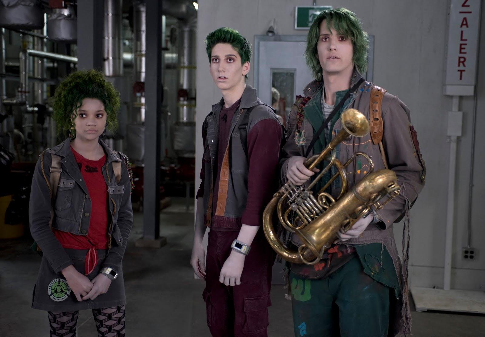Eliza, Zed e Bonzo