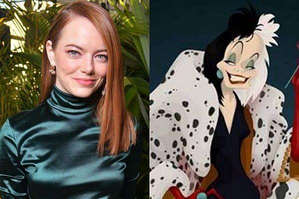 Emma Stone interprete de Cruella