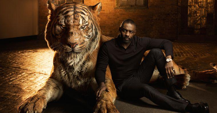Idris Elba dublador de Shere Khan