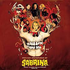 Imagem estilizada para a trilha sonora do mundo Sombrio de Sabrina