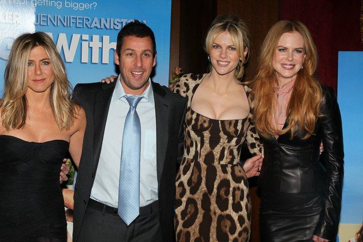 Jennifer Aniston, Adam Sandler, Brooklyn Decker e Nicole Kidman
