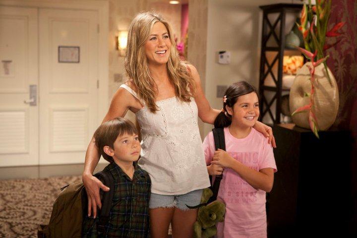 Katherine e seus filhos