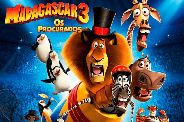 Madagascar 3-poster