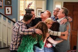 abraço em familia Modern Family