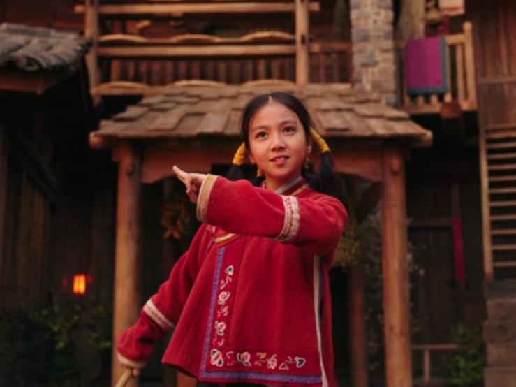 Mulan criança