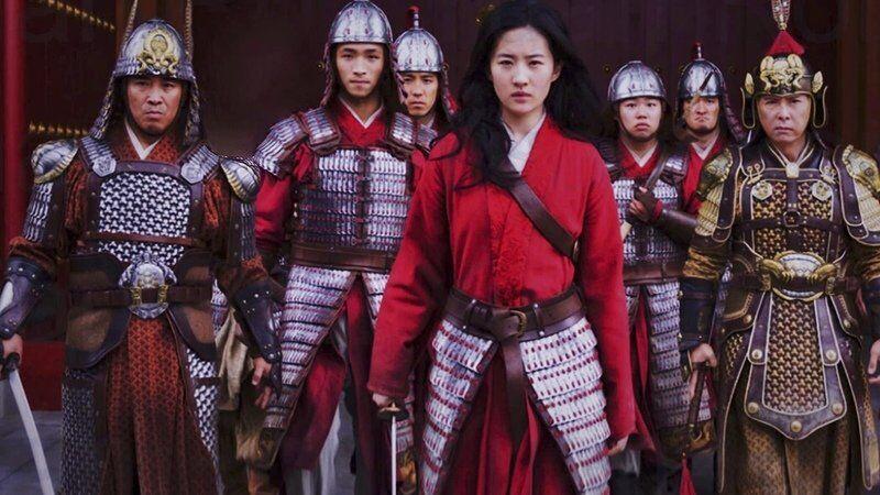 Mulan e os soldados