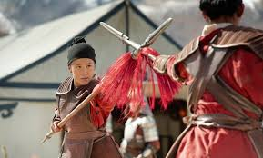 Mulan lutando