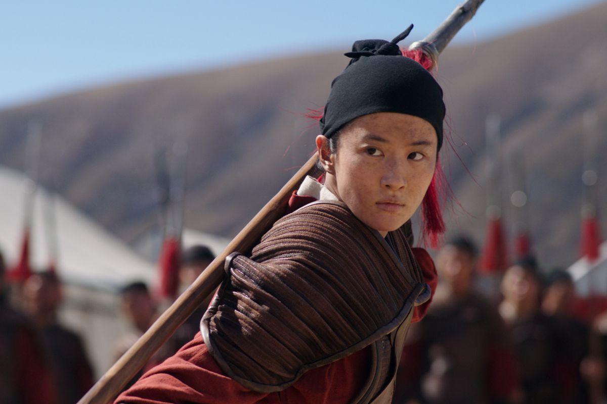 Mulan no campo de treinamento