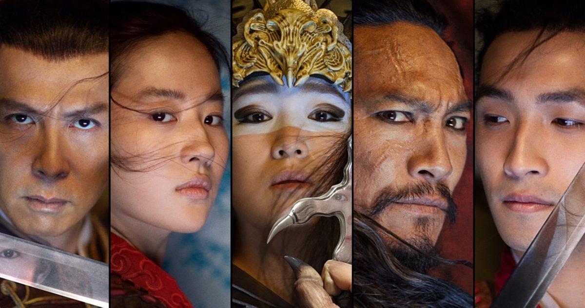 Mulan-personagens